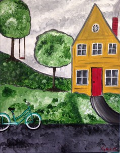 Bicycle By The Cottage